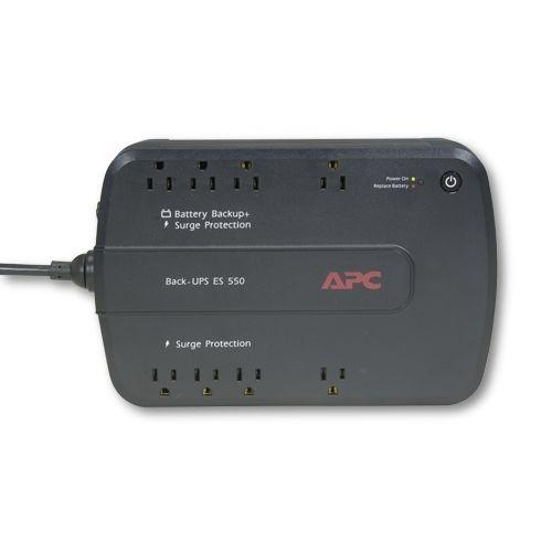 APC 550VA UPS - 8-Outlet, 330 Watts, 120 Volts
