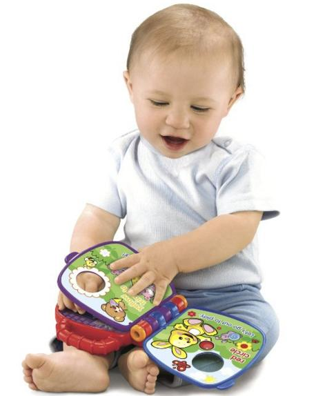 Fisher-Price Laugh & Learn Teddy's Shapes & Colors Book @ Amazon