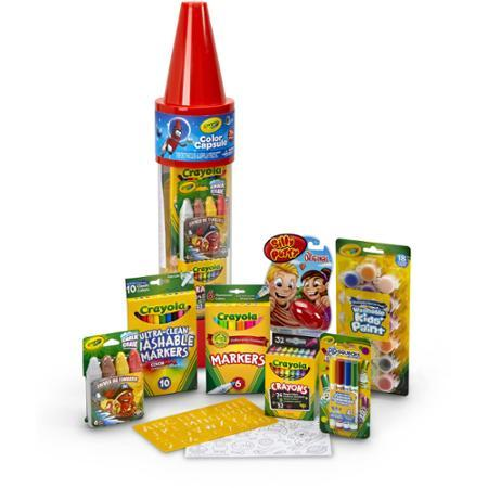 Crayola 78-Piece Color Capsule, Red