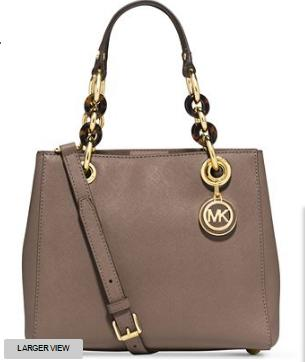 MICHAEL Michael Kors Cynthia Small North South Satchel @ macys.com