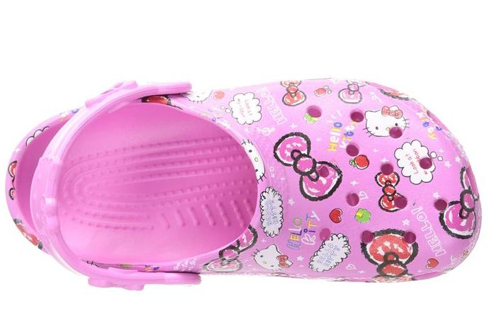 From $12.95 crocs Girls' Hello Kitty Good Times Clog @ Amazon