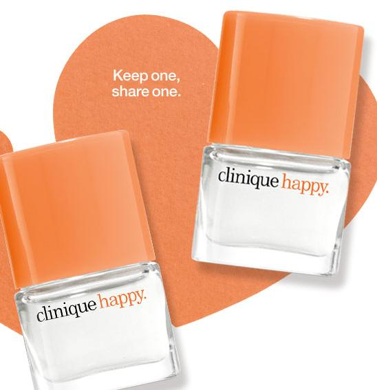 Free Two Free Happy Perfume Spray Minis With Any Purchase @ Clinique