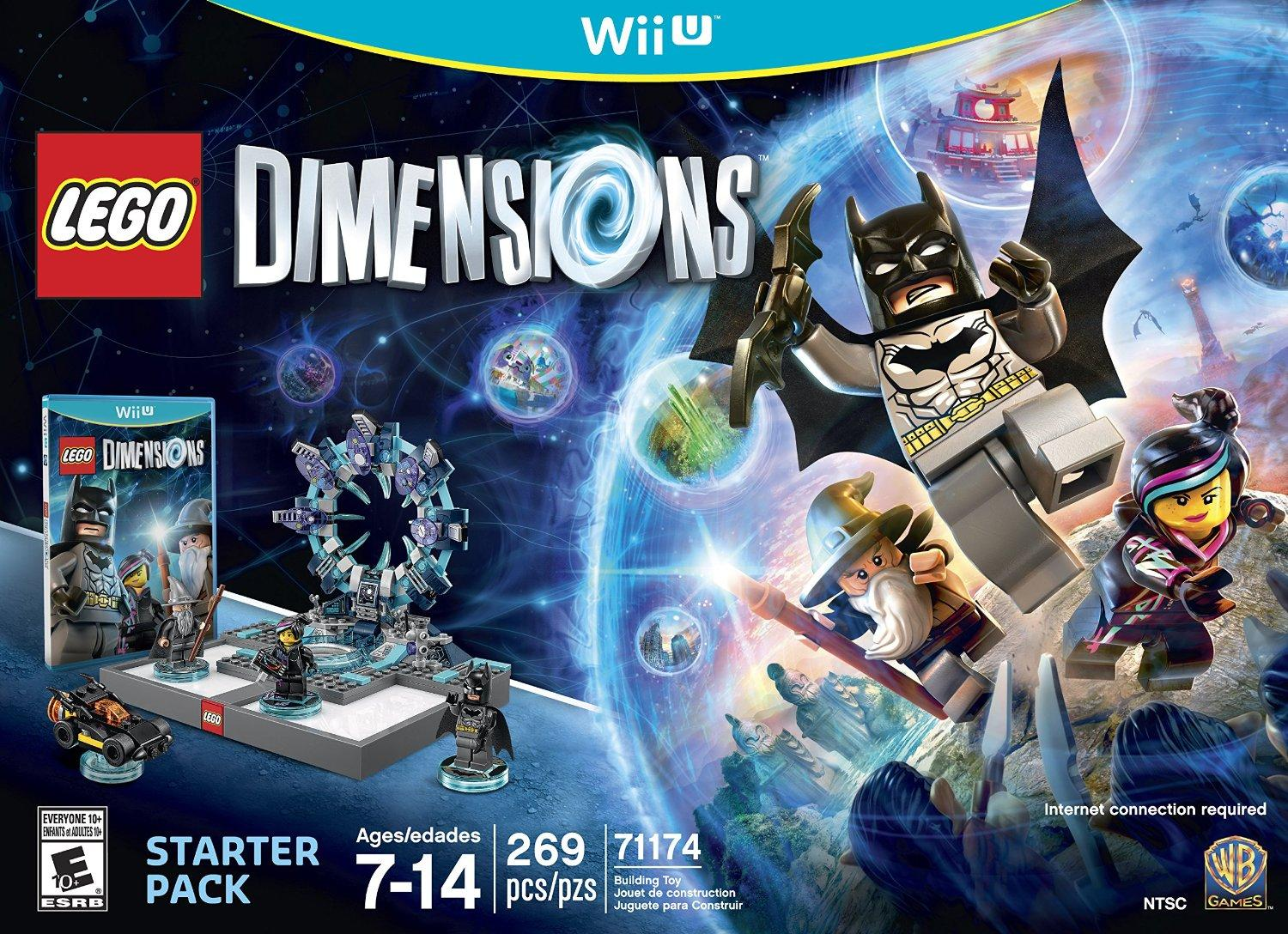 $44.99 LEGO Dimensions Starter Pack - Nintendo Wii U/PS4/Xbox One