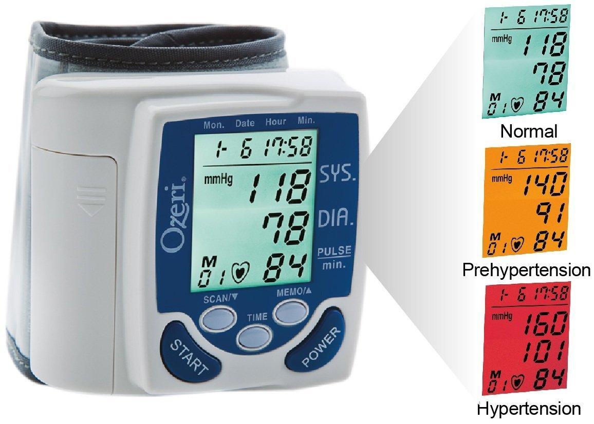 $29.96 Ozeri BP2M CardioTech Premium Series Digital Blood Pressure Monitor