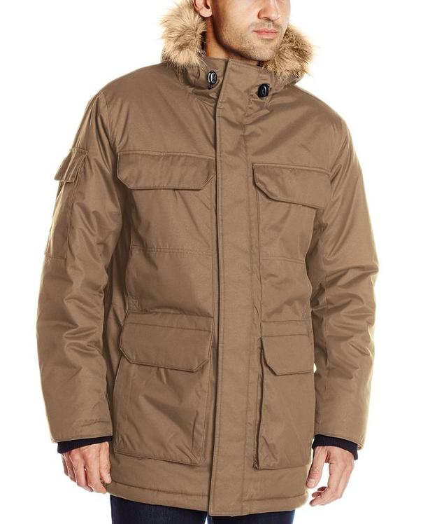 Hawke & Co Men's Rockland Parka with Sherpa-Lined Hood @ Amazon