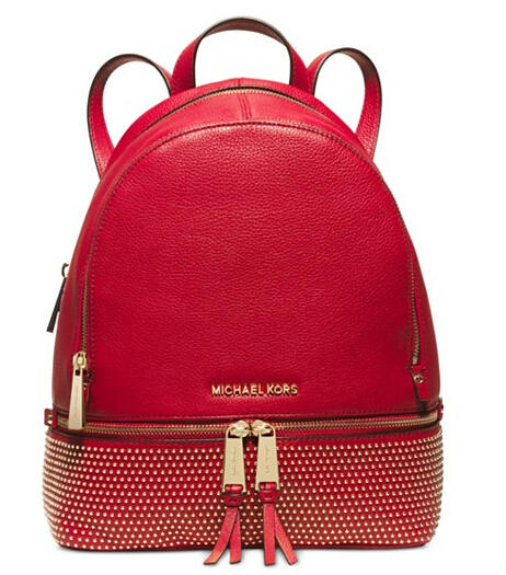 MICHAEL Michael Kors Rhea Medium Microstud Backpack
