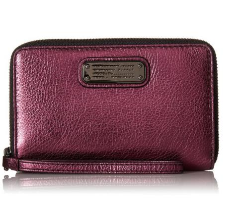 Marc by Marc Jacobs New Q Shine Wingman Wristlet