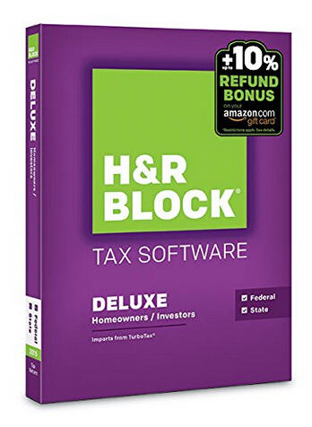 51% Off H&R Block Tax Software @ Amazon.com
