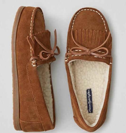 AEO Cozy Moccasin