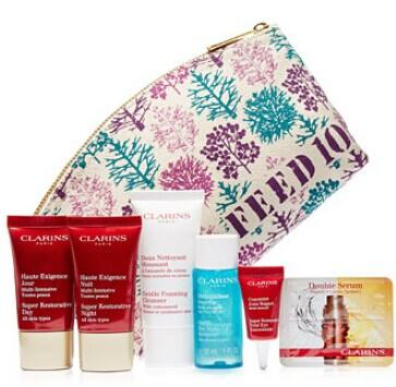 Free 10-Pc Gift with $75 Clarins purchase @ macys.com