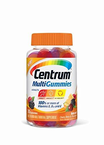 Centrum Multigummies Multivitamin, 70 Count