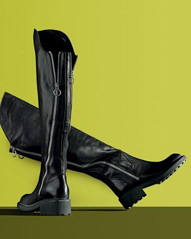 Ash Seven Leather Over-The-Knee Boots @ Saks Off 5th
