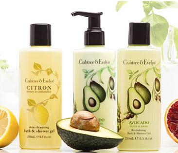 30% Off Botanical Body Care Collection @ Crabtree & Evelyn
