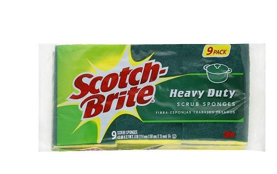 + $5 Target Giftcard 27-Pack Scotch-Brite Heavy Duty Scrub Sponge