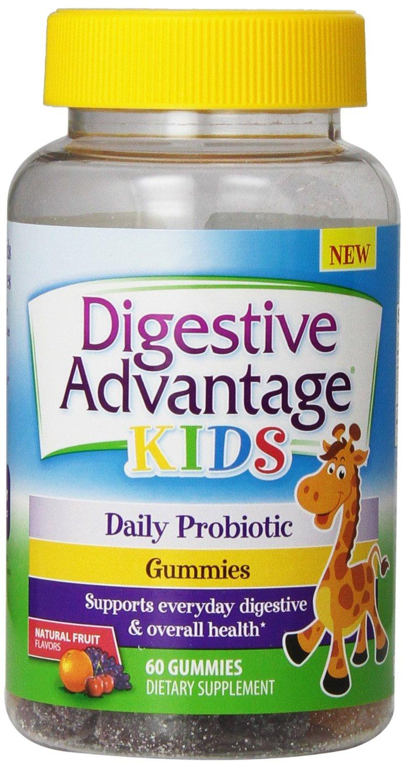 Digestive Advantage Probiotics - Daily Probiotic Gummies for Kids, 60 Count