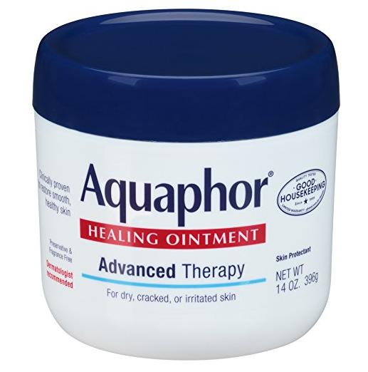 $6.72 Aquaphor Healing Ointment, Dry, Cracked and Irritated Skin Protectant, 14 Ounce