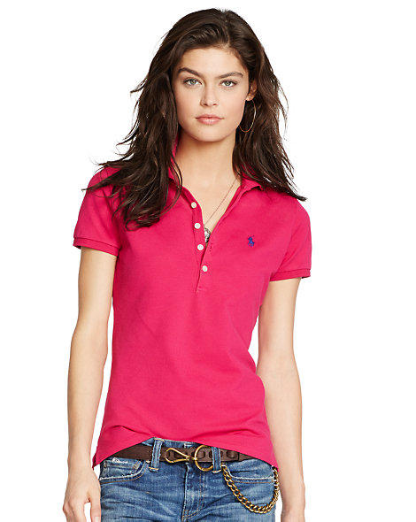 Ralph Lauren Skinny Stretch Polo Shirt