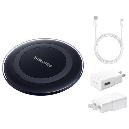 $18.99 Samsung Wireless Charging Pad with 2A Wall Charger & Micro USB Cable