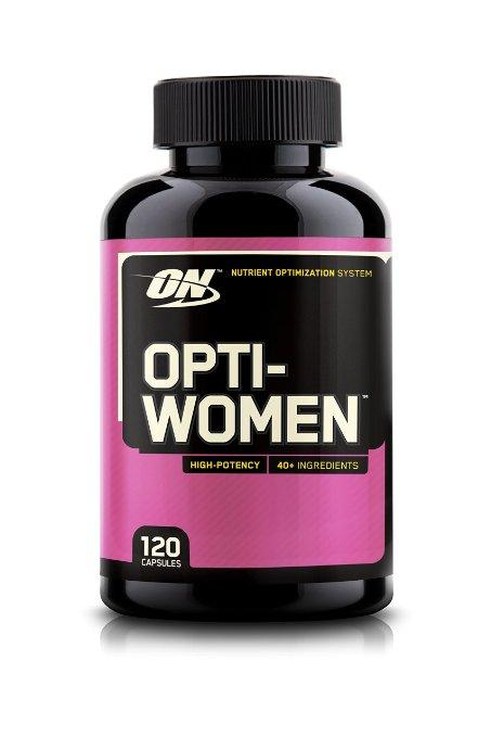 $12.15 Optimum Nutrition Opti-Women, Women's Multivitamin, 120 Capsules
