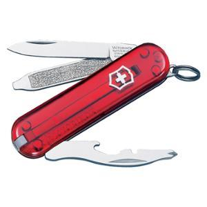 Victorinox Swiss Army Rally Ruby 51021 Sturdy And Compact Key Chain Multi-Tool