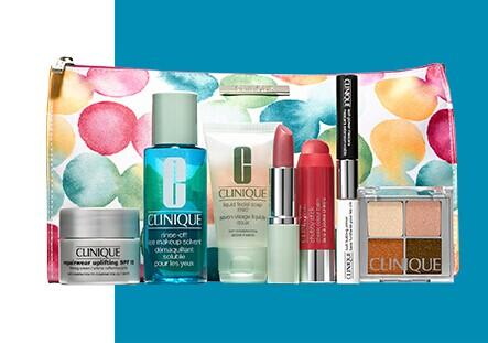 Free 8-Pc Gift with $29 Clinique Purchase +Free 28-Piece Gift ($130 Value) with Your $125 Beauty Purchase @ Nordstrom