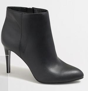 Factory Heeled Ankle Boots