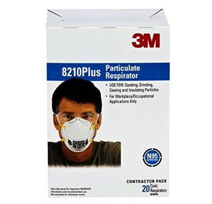 Best seller! 3M 8210PB1-A Particulate Respirator, 20-Pack
