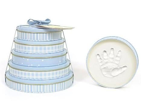 Child to Cherish Handprints Tower Of Time Kit in Blue @ Amazon