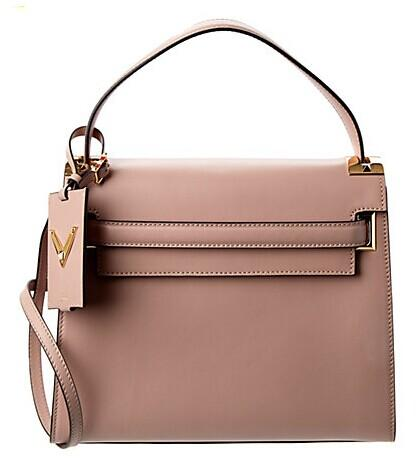 Valentino Single Handle Leather Bag @ Rue La La