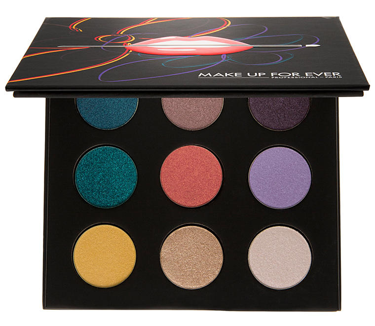 New Release Makeup forever launched New Artist Palette Volume 3