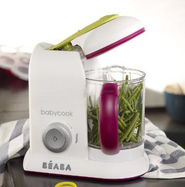 BEABA Babycook Pro- Dishwasher Safe Baby Food Maker-Cooks & Processes @ Amazon