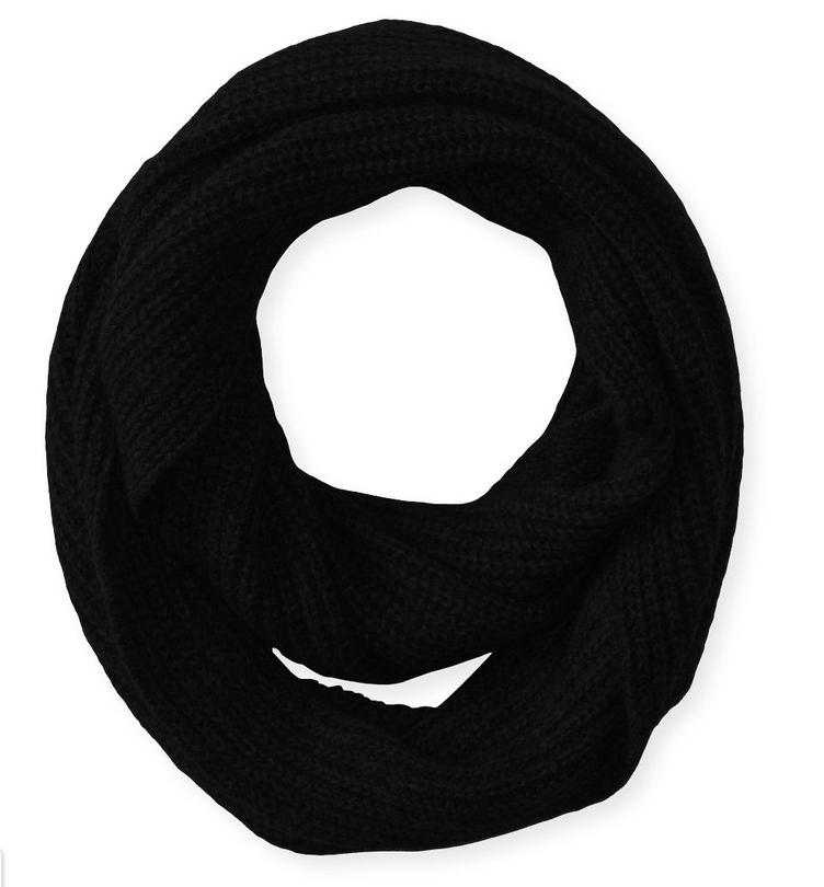 Williams Cashmere Men's Ribbed Infinity Scarf