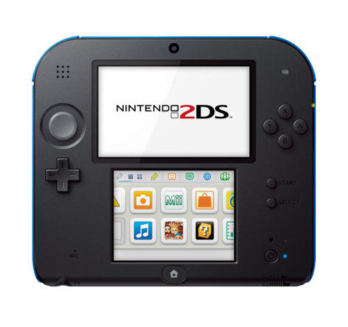 $60 Nintendo 2DS (Electric Blue) *FACTORY REFURBISHED BY NINTENDO