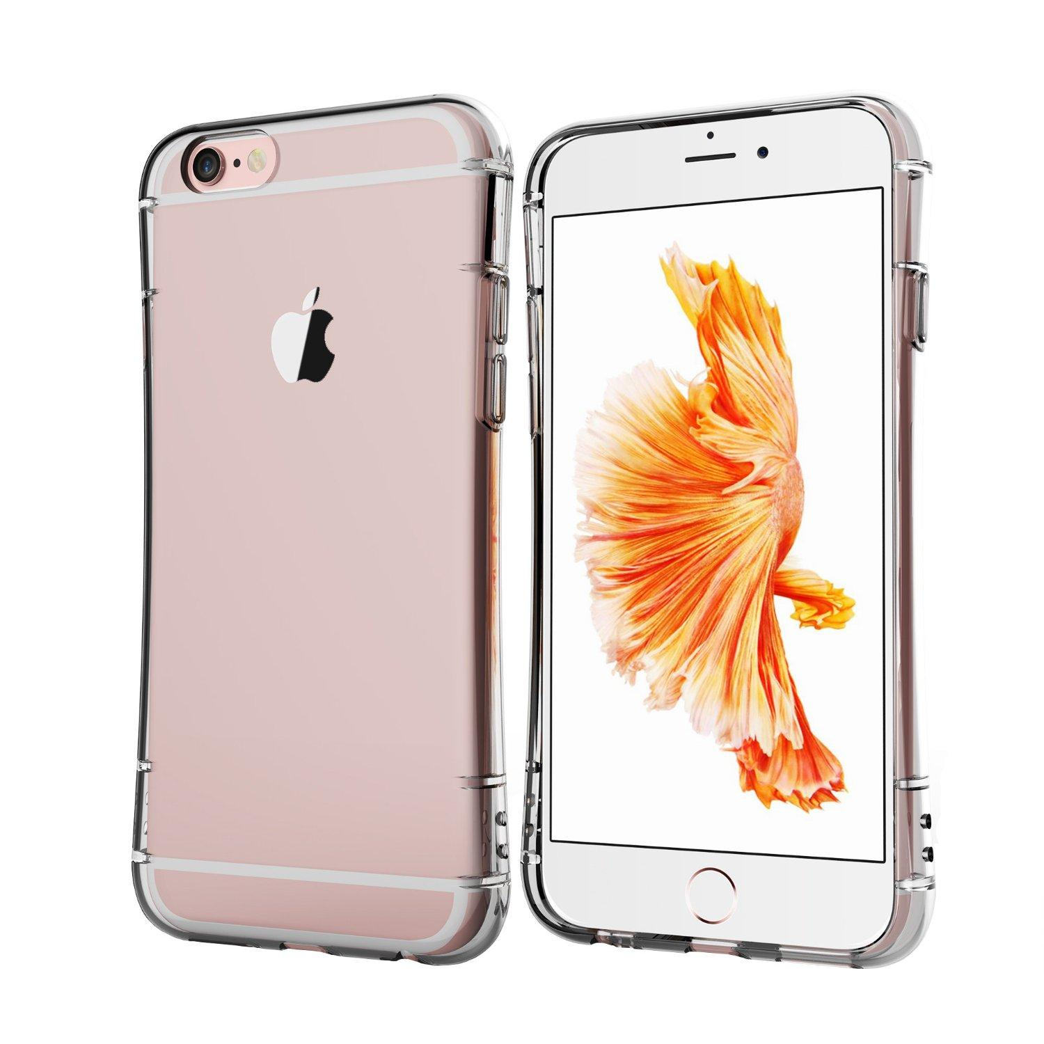 doopoo [AIR CUSHION] Clear iPhone 6/6s Case