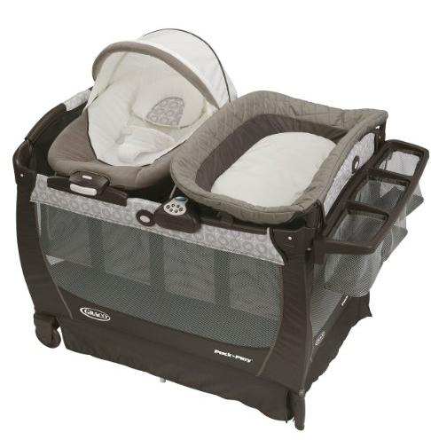 Graco Pack 'n Play Playard Snuggle Suite LX, Abbington @ Amazon
