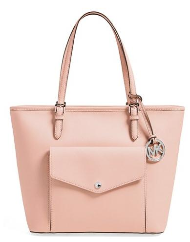 MICHAEL Michael Kors 'Large Jet Set' Pocket Tote (Nordstrom Exclusive)