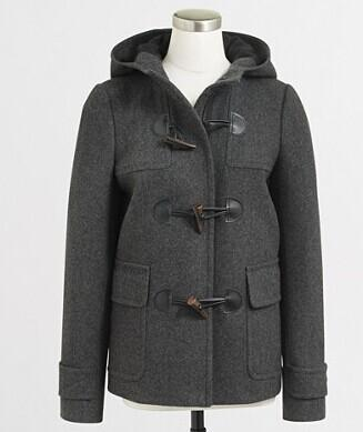 FACTORY TOGGLE COAT @ J.Crew Factory