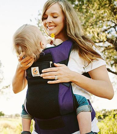 ERGObaby Performance Ventus Carrier, Purple @ Amazon