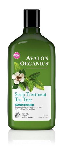 Avalon Organics Conditioner, Scalp Treatment Tea Tree, 11 Ounce