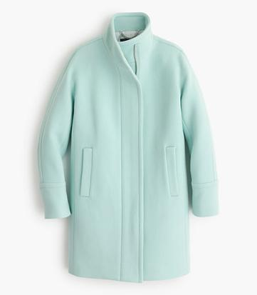 Cocoon Coat Mint