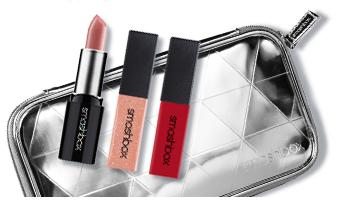 Free Mini Lip Duo,Gloss & Makeup Bag with $40 Purchase @ Smashbox Cosmetics