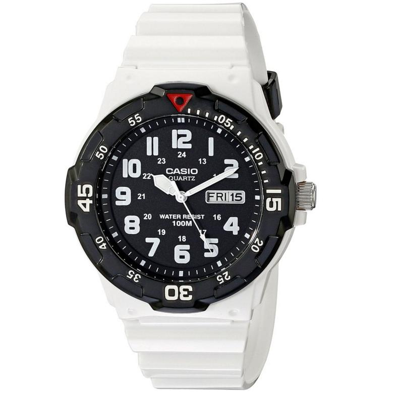 Casio Men's MRW-200HC-7BVCF Classic Stainless Steel White Watch
