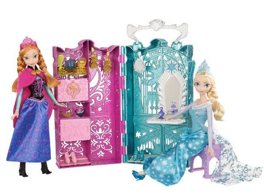 Disney Frozen Anna and Elsa's Royal Closet Gift Set @ Amazon