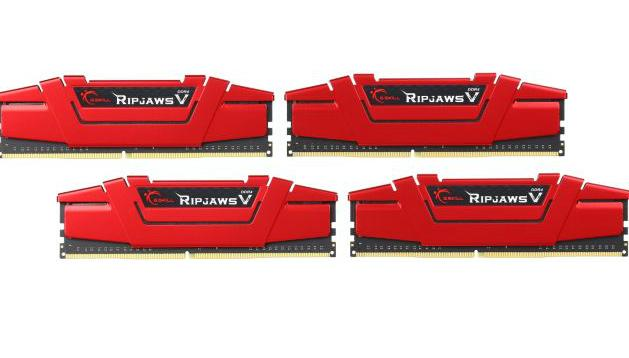 G.Skill Ripjaws V Series 16GB (4 x 4GB) 288-Pin SDRAM DDR4 3000 (PC4 24000) Desktop Memory