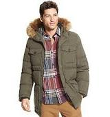 Tommy Hilfiger® Men's Parka With Fur Hood