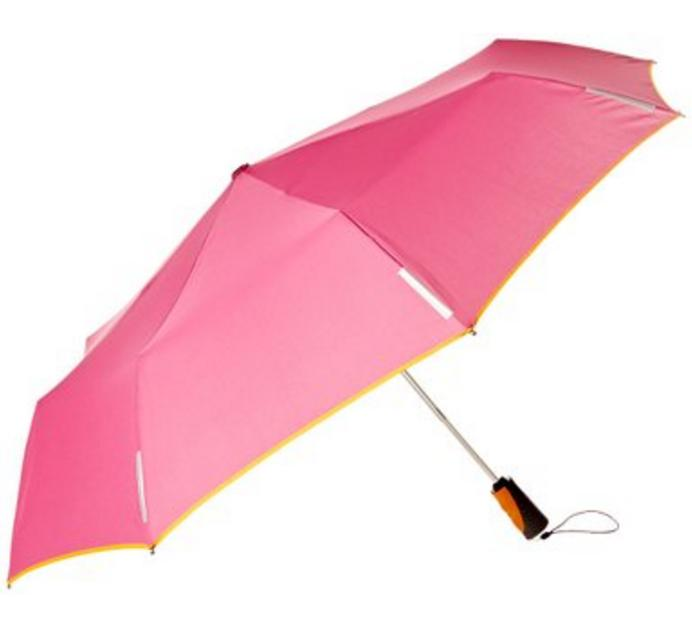 $23.86 Totes Trx Auto Open and Close Titan Regular Umbrella, Strawberry/Tang Binding