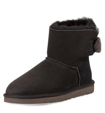 UGG Australia	 Mini Bailey Knit-Bow Boot