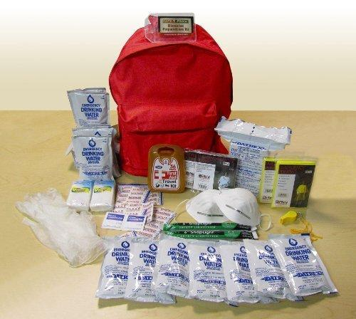 $29.95 Safe-T-Proof 2 Person/3 Day Grab and Go BackPack Emergency Survival Kit