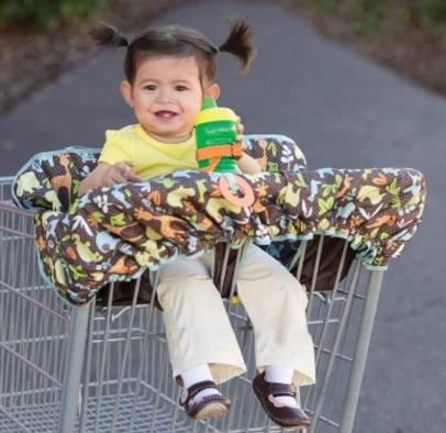 Infantino Compact 2-in-1 Shopping Cart Cover @ Amazon