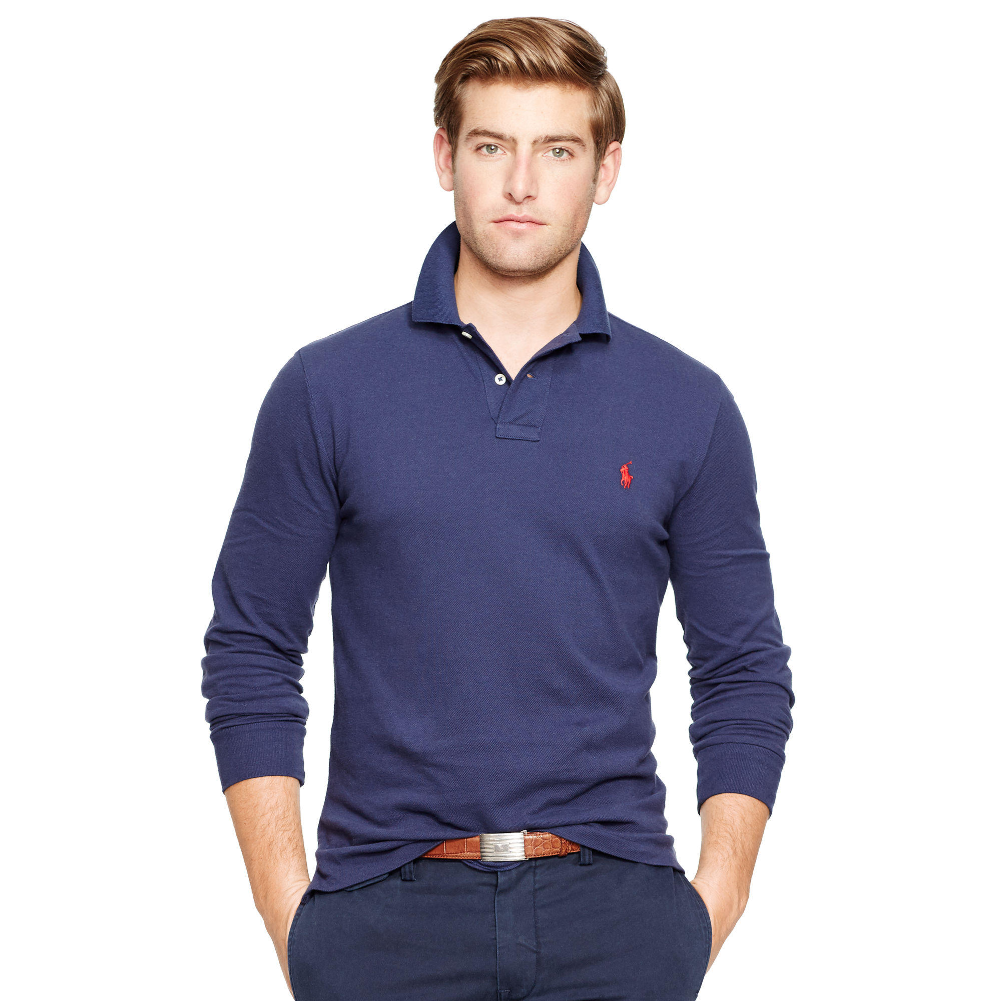 Ralph Lauren Custom-fit Long Sleeved Polo